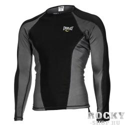 Рашгард Everlast MMA L/S Black Grey