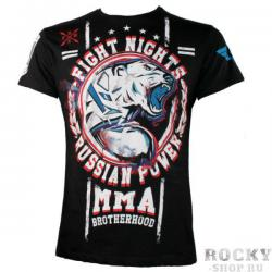 Футболка Fight Nights Белый медведь