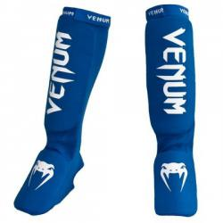 Щитки Venum «Kontact» Shinguards and Instep Blue