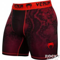 Компрессионные шорты Venum «Fusion» Compression Shorts - Black Red