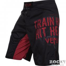 Шорты ММА Venum Train Hard Hit Heavy Black