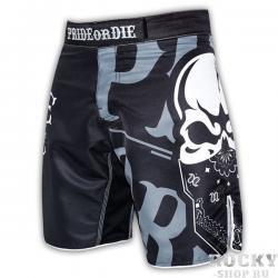Шорты PRiDEorDiE Reckless Black White