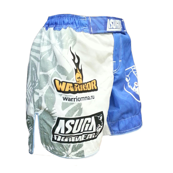 Женские шорты AsurA Warrior Stitch Girl Blue White