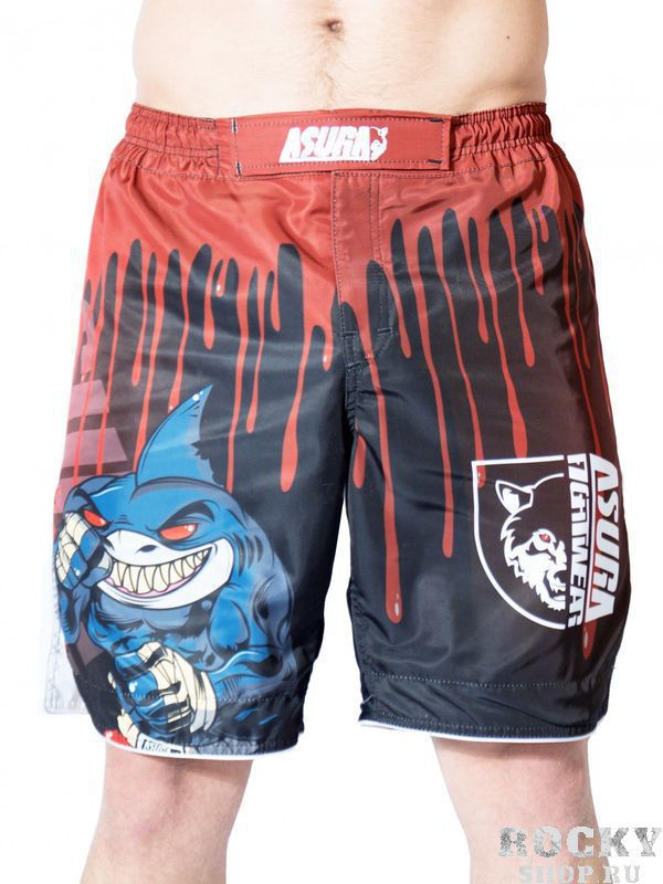 Шорты AsurA MMA Shark Warrior